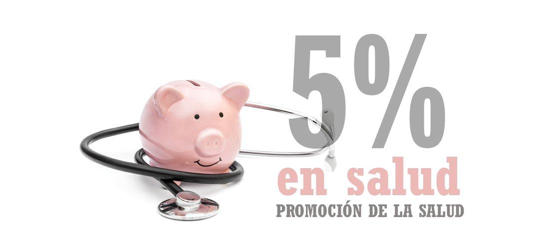 5% en Salud – Promoción de la salud