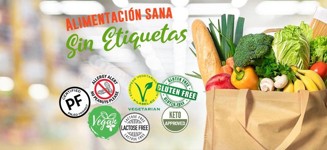 Alimentación sana sin etiquetas