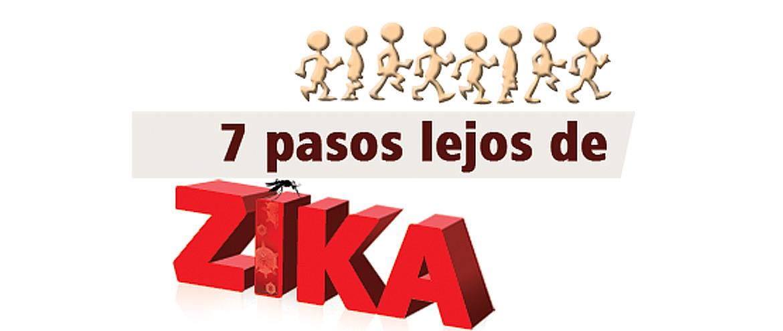 7 pasos lejos de ZIKA